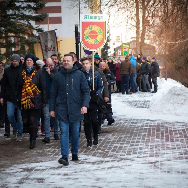 Kuldīgas novada 10. atklātās ziemas sporta spēles
