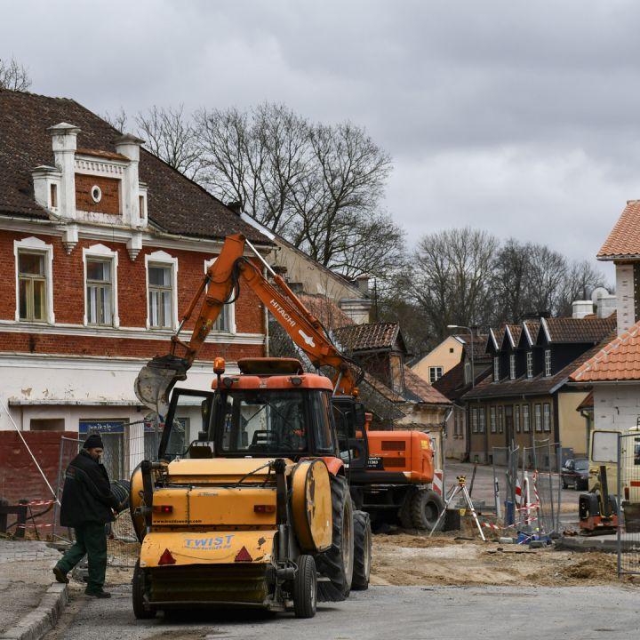 Atsākas Jelgavas ielas remonts