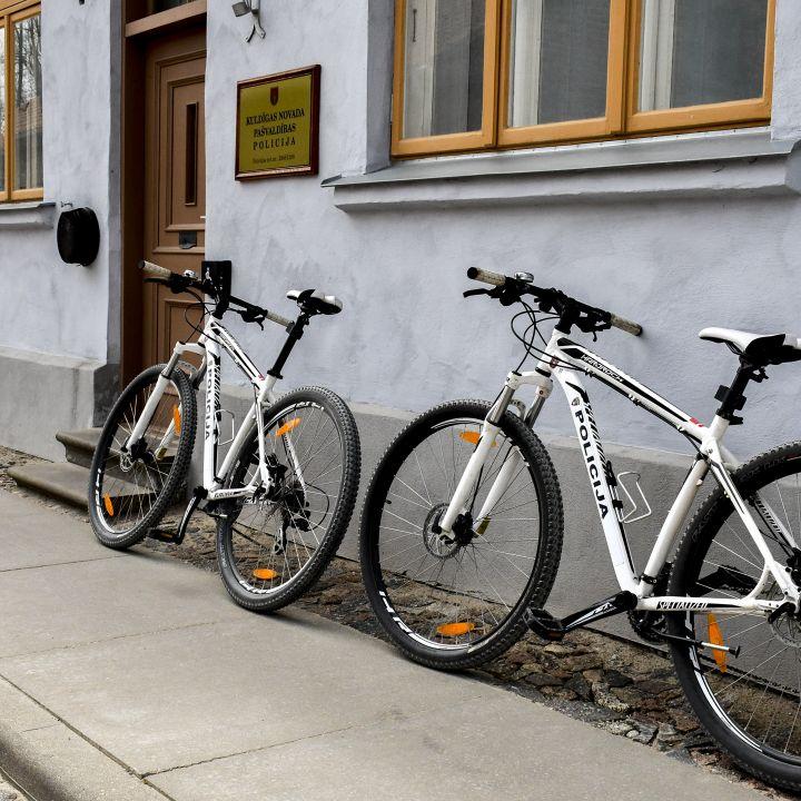 Pašvaldības policijas velosipēdu patruļa
